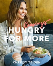 "Chrissy Teigen follows up her No. 1 USA TODAY best-seller with ""Cravings: Hungry for More."""