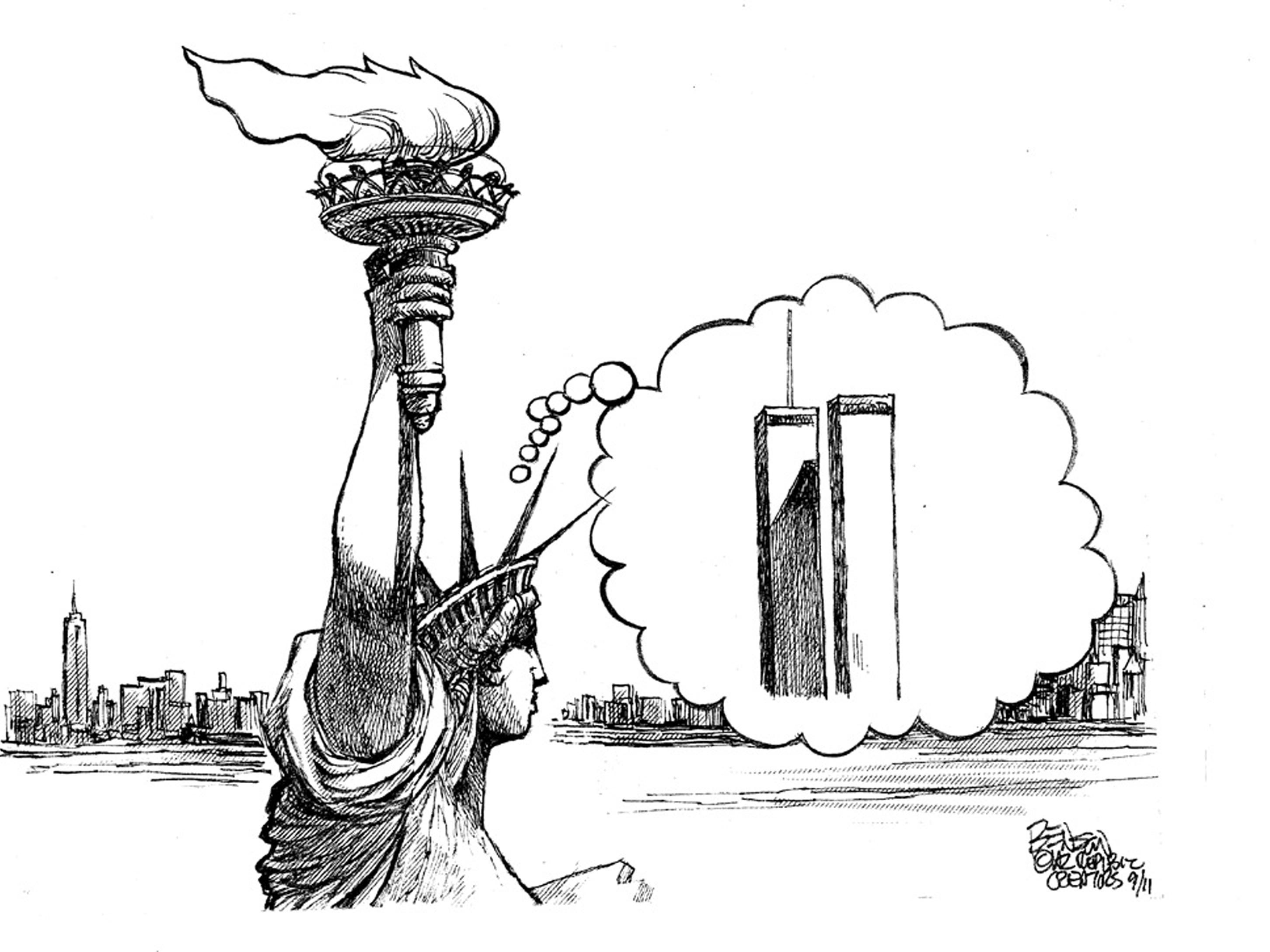 First published for Sept. 11, 2011. The cartoonist's homepage, azcentral.com/opinions/benson