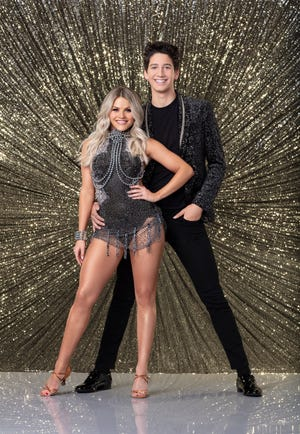 """Witney Carson and Milo Manheim were scary-good on Monday's episode of """"Dancing With the Stars."""""""
