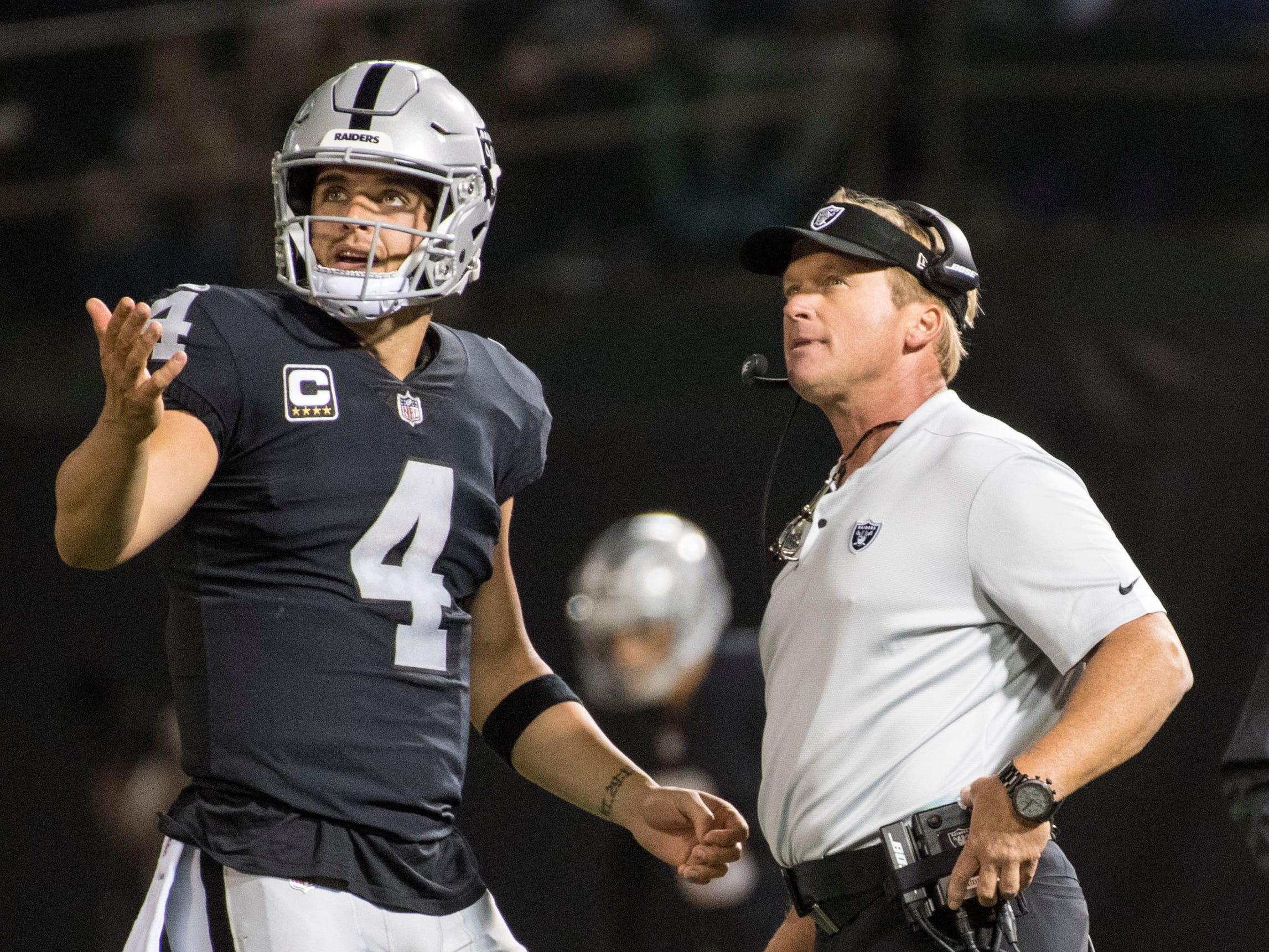 29. Raiders (28): By end of Jon Gruden's re-debut, Derek Carr was making shaky decisions while Mack-less defense was left looking worn and beaten.