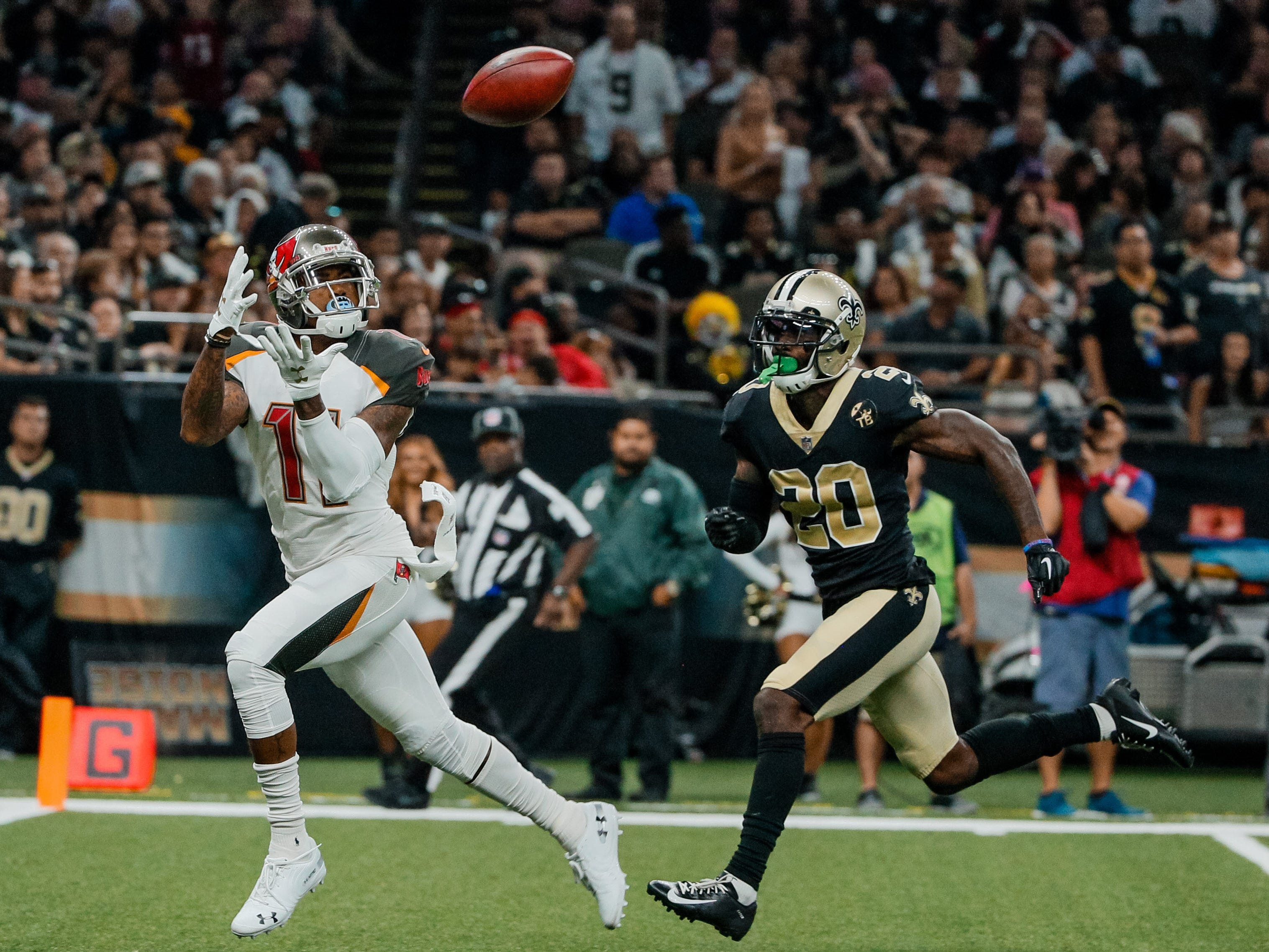 9. Saints (5): A team that didn't allow more than 38 points last year (and surrendered an average of 20.4) gets scorched for 48 by the Bucs? Inexplicable.