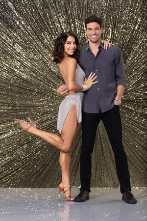 """Jenna Johnson and """"Grocery Store Joe"""" Amabile had more last-place scores than anyone in """"Dancing With the Stars"""" history."""
