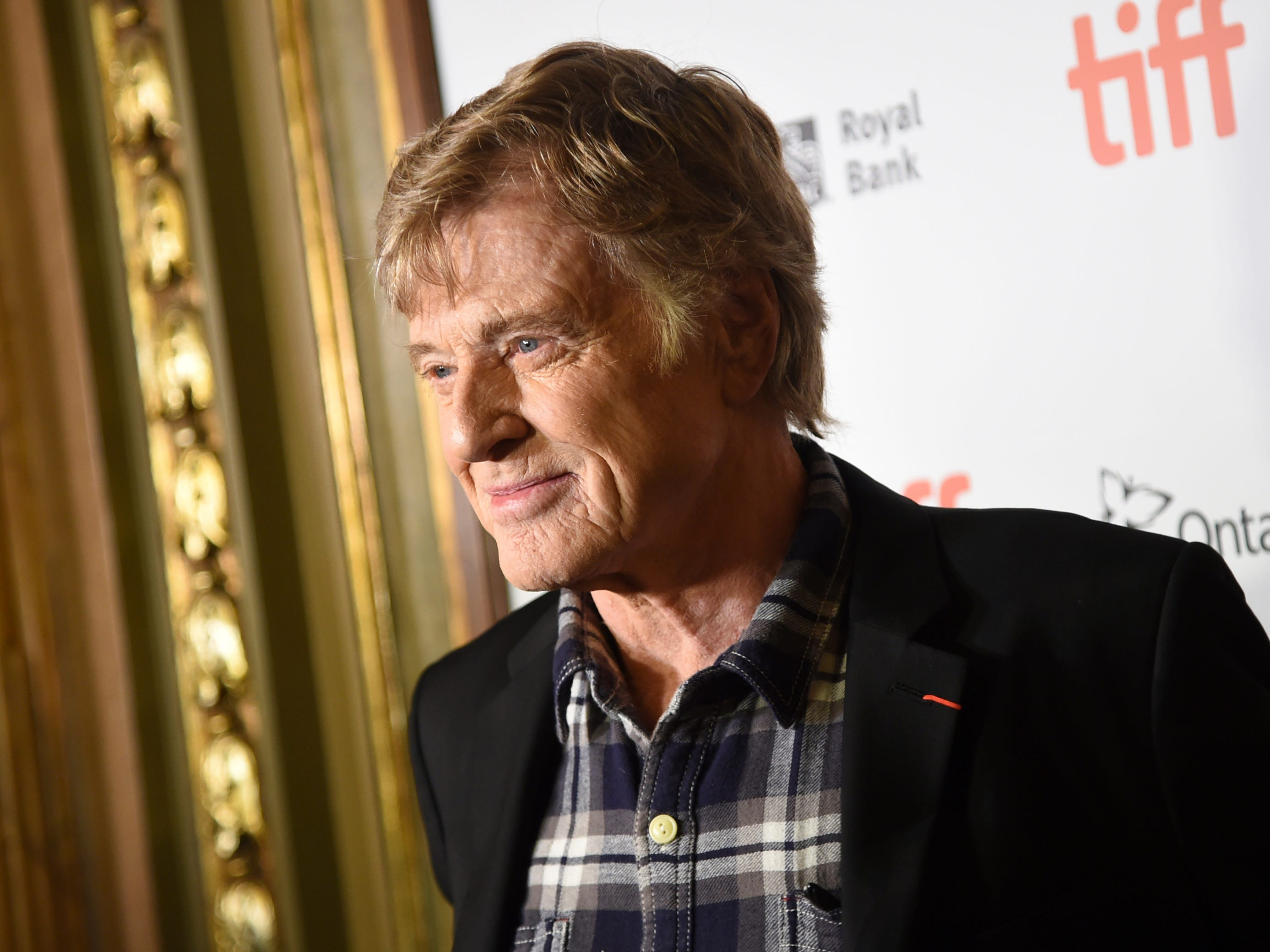 "Robert Redford attends the premiere for ""The Old Man & The Gun"" on day 5 of the Toronto International Film Festival at the Elgin Theatre on Monday, Sept. 10, 2018, in Toronto. (Photo by Evan Agostini/Invision/AP) ORG XMIT: CANPM136"