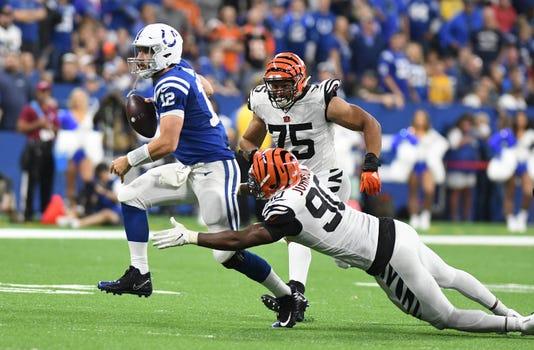 Usp Nfl Cincinnati Bengals At Indianapolis Colts S Fbn Ind Cin Usa In