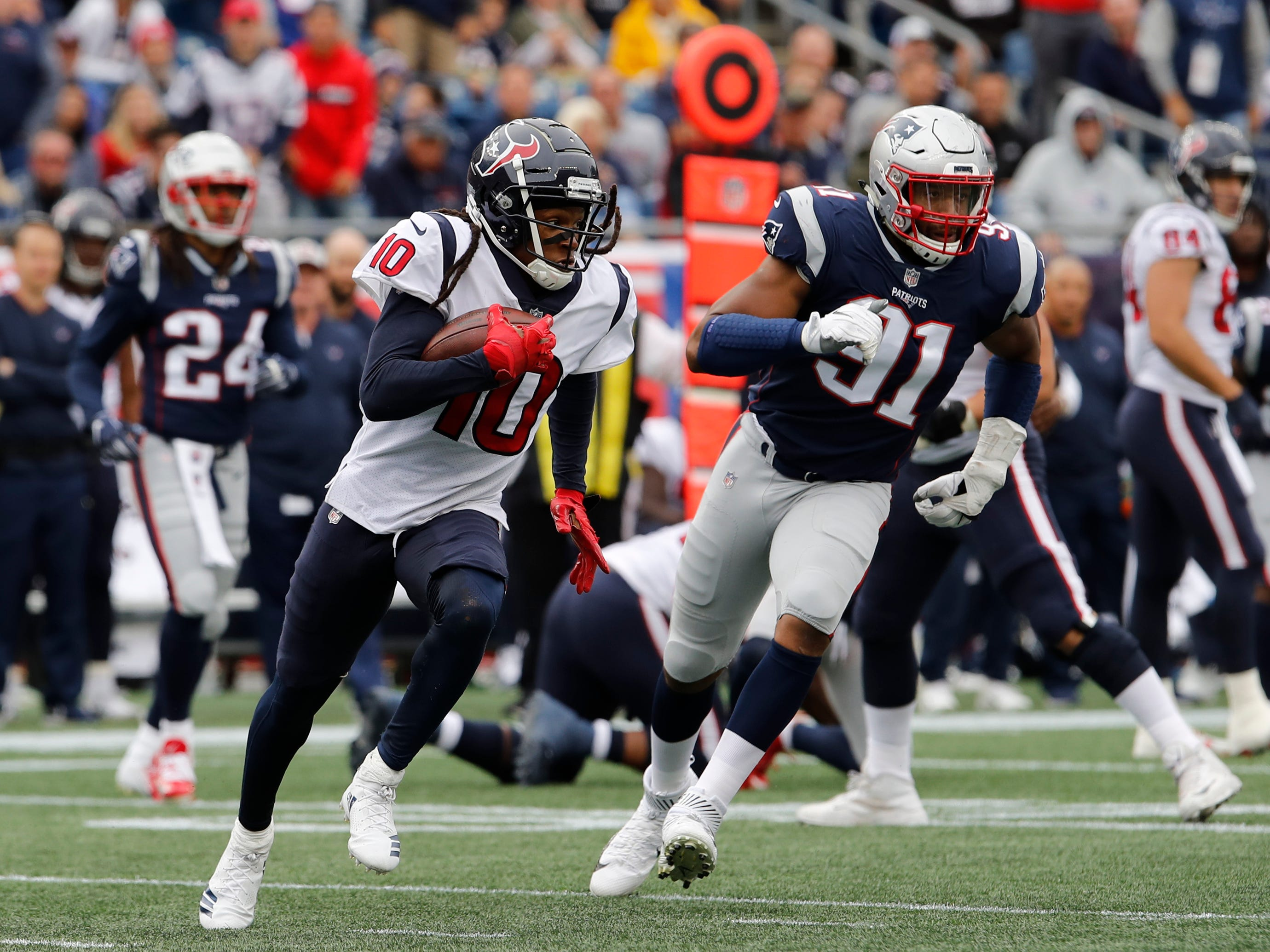 14. Texans (11): Opening against New England not easy way to knock off rust for Watt and Watson. Silver lining — Houston churned out 167 yards on ground.
