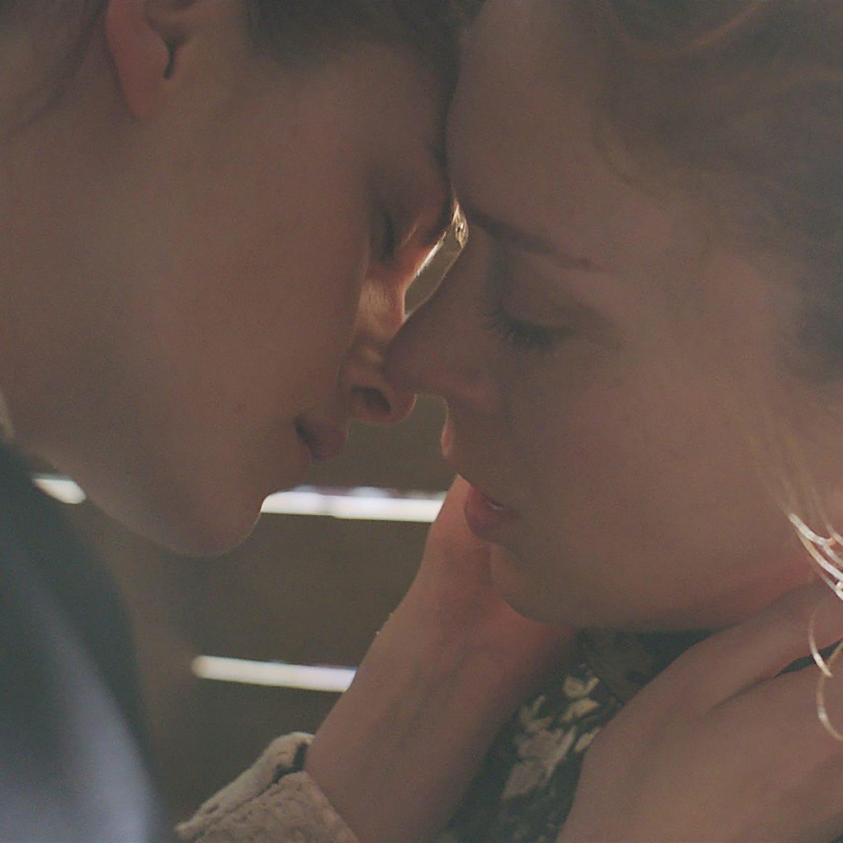 The forbidden romance between Bridget Sullivan (Kristen Stewart, left) and Lizzie Borden (Chloe Sevigny) leads to a bloody end.