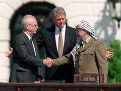 25 years ago this week, Mideast peace seemed inevitable. Now it's further away than ever.