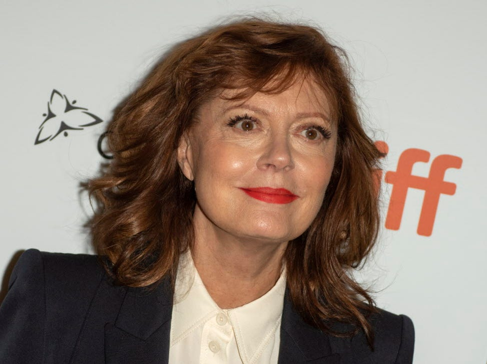 epa07011583 US actress and cast member Susan Sarandon arrives for the screening of the movie 'The Death and Life of John F. Donovan' during the 43rd annual Toronto International Film Festival (TIFF) in Toronto, Canada, 10 September 2018.  EPA-EFE/WARREN TODA ORG XMIT: WTX33