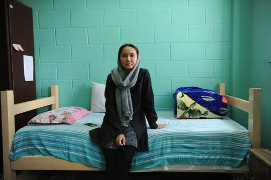 Parwen Samar studies law at the American University of Afghanistan.