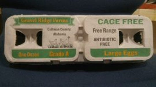 The CDC recalled Gravel Ridge Farms eggs in Alabama, Georgia and Tennessee.