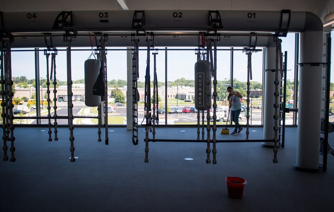 The St. James in suburban Washington is 450,000-square-foot sports and wellness complex.