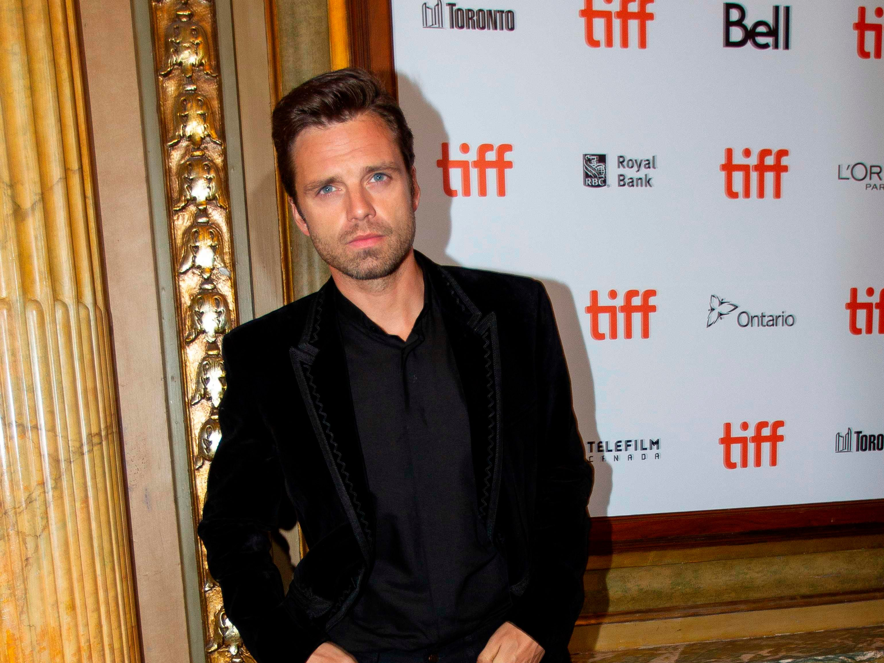US/Romanian actor Sebastian Stan attends the premiere of 'The Old Man and the Gun' at the Toronto International Film Festival in Toronto, Ontario, Canada on September 10, 2018. (Photo by Geoff Robins / AFP)GEOFF ROBINS/AFP/Getty Images ORG XMIT: Toronto i ORIG FILE ID: AFP_19042L