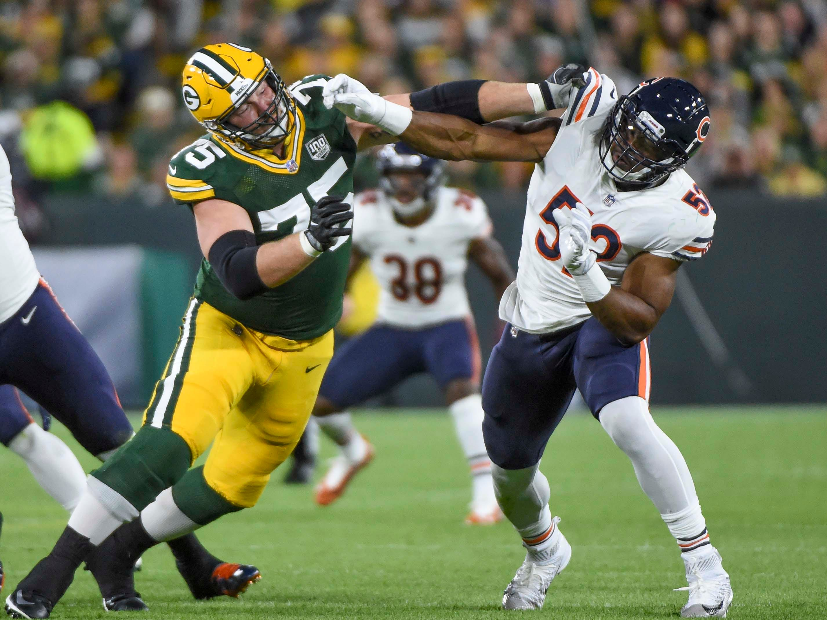 18. Bears (19): Offense showed intriguing signs of life, but it still accounted for same number of TDs Sunday night (1) as new OLB Khalil Mack did.