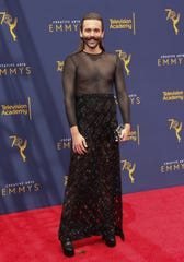 Reality TV personality Jonathan Van Ness at the Creative Arts Emmys on Sept. 9, 2018.