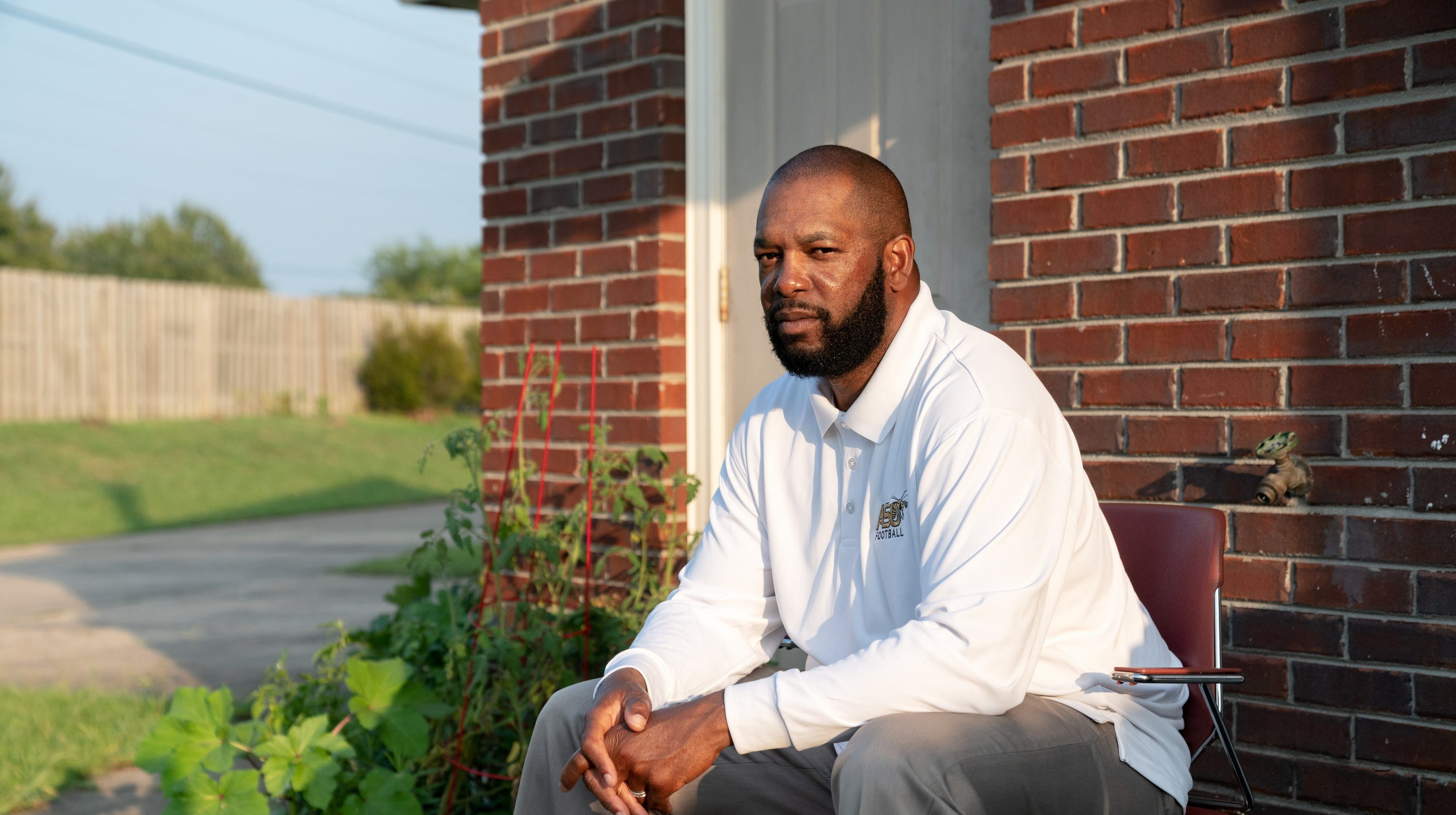 """Anthony """"Amp"""" Campbell was denied victims' compensation to help with the burial costs for his father, Johnnie Campbell, who was murdered in Florida in 2015."""