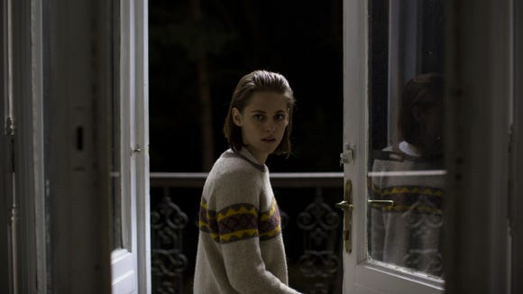 "Maureen (Kristen Stewart) wants to communicate with her dead twin brother in the ghost story ""Personal Shopper."""