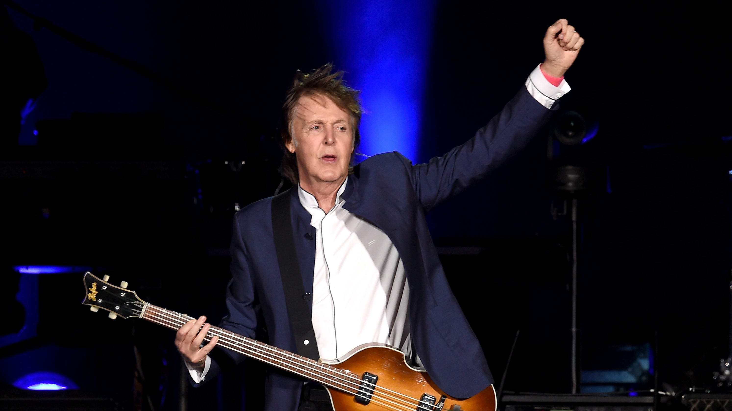 Paul McCartney earns first No  1 album in 36 years with