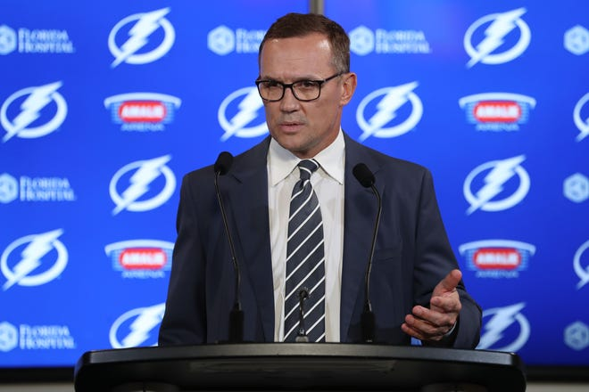 Steve Yzerman will remain with the Lightning as senior advisor to the general manager.