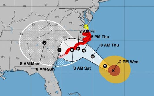 Hurricane Florence Whats Coming For Nj