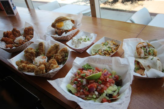A selection of Korean fusion dishes from MOGO in Asbury Park.