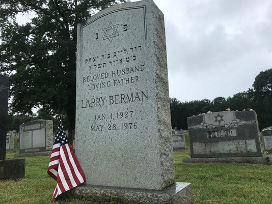 Larry Berman Headstone