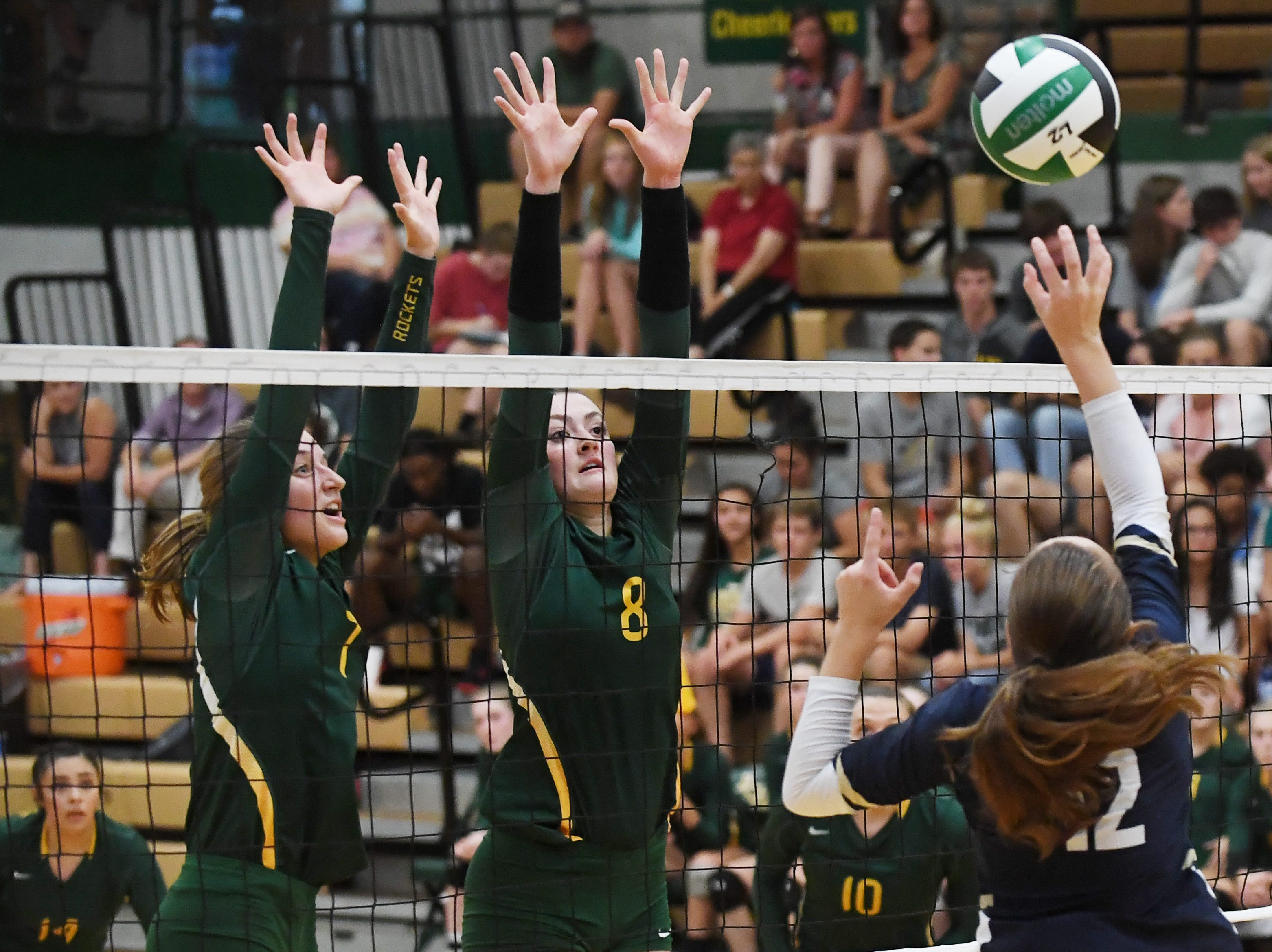 Reynolds defeated Roberson 3-1 at home Sept. 11, 2018.