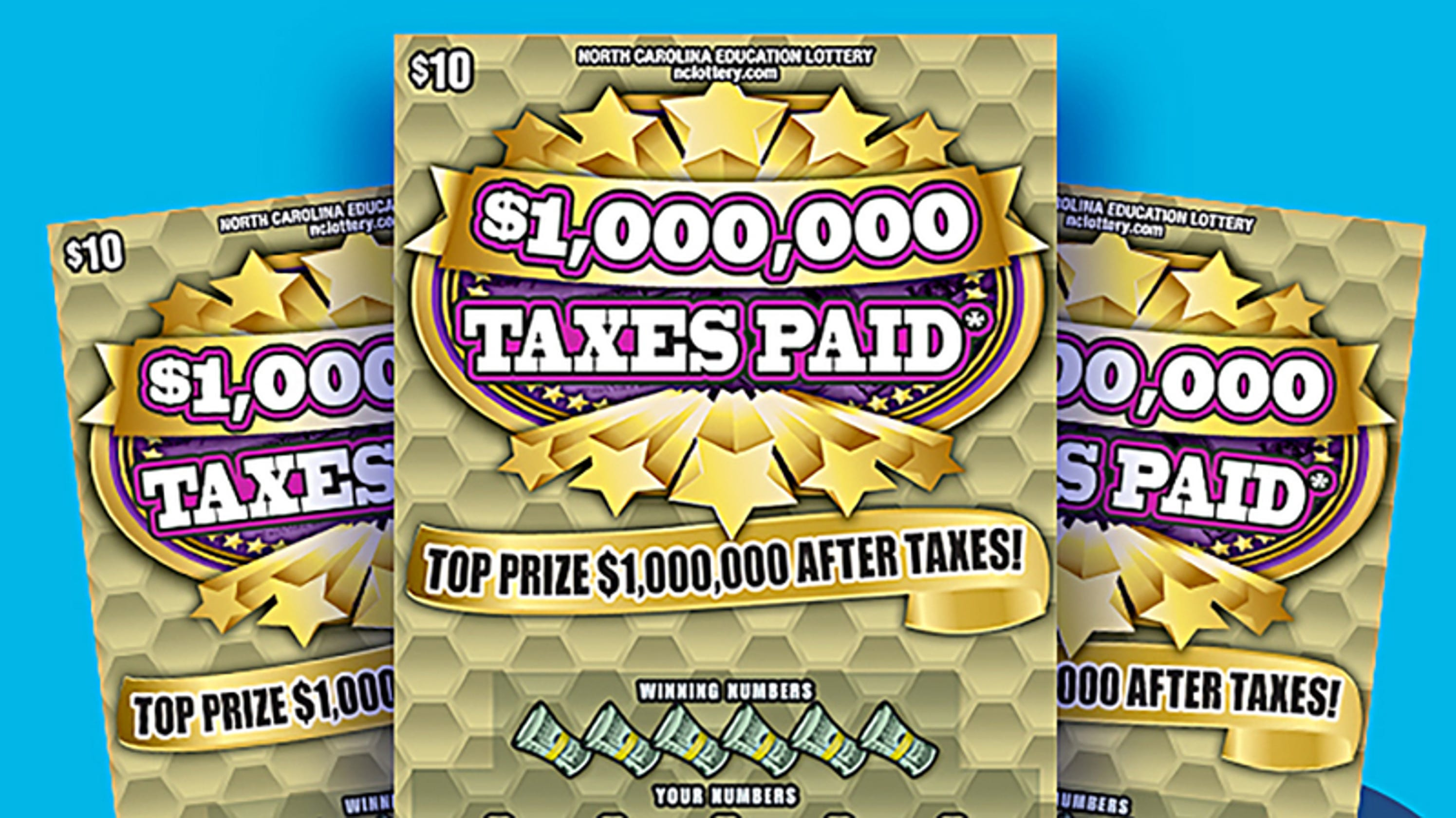 Asheville woman wins $1 million Back Scratch prize in NC lottery game