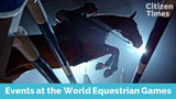An explanation of equestrian disciplines at the World Equestrian Games in Tryon.