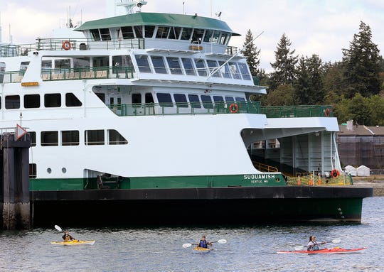 Washington State Ferries hopes to build five more boats like the Suquamish -- two as backup ferries and three to replace vessels due to go out of service by 2040.