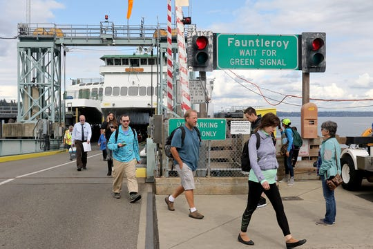 Washington State Ferries' long-range plan includes $1.8 billion in improvements to terminals, including at Southworth.