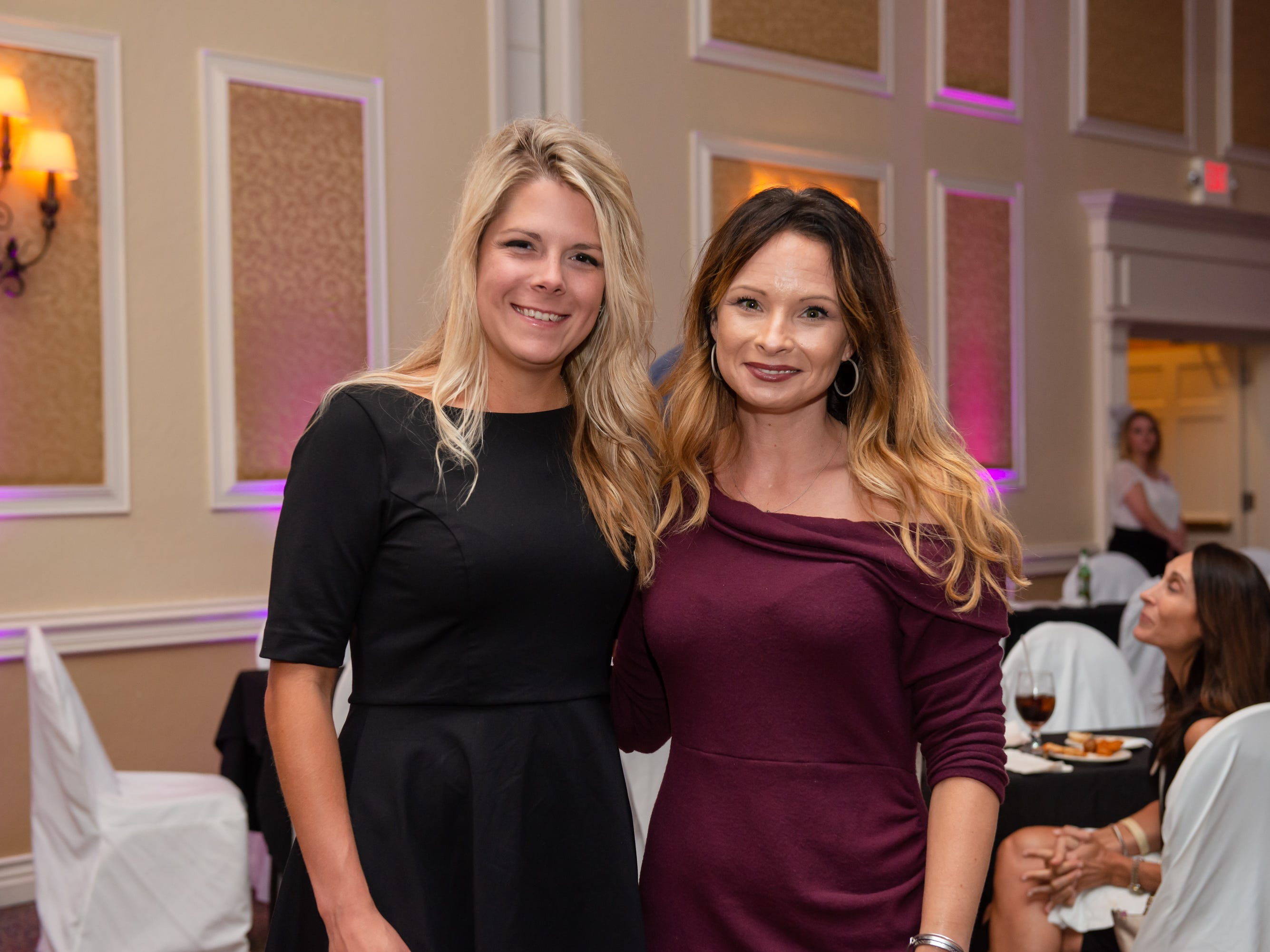 """Mallorie Ann Ingram and Bea Witmer at """"Dude Looks Like a Lady"""" event benefitting the Women's Center."""