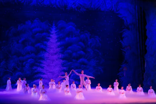 "The Space Coast Ballet turns the King Center stage into a winter wonderland every December with its production of ""The Nutcracker Ballet."""