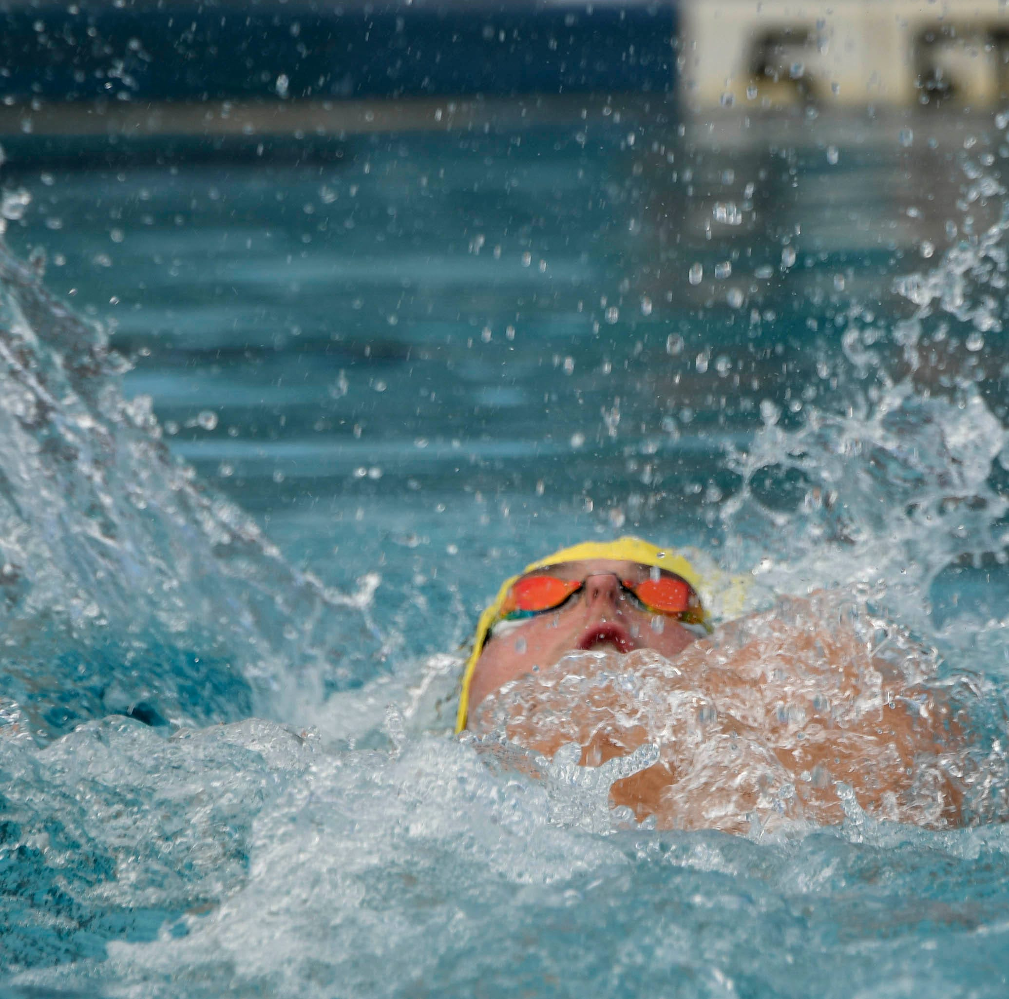 Kravchenko's double state swimming wins among several Brevard medals