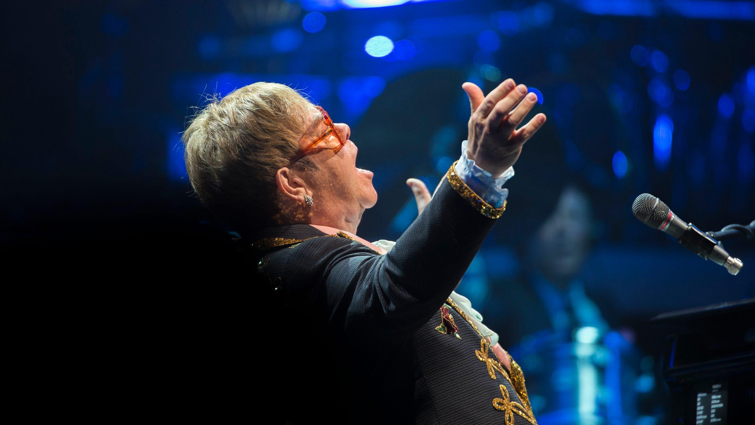 Elton John Tour  Setlist