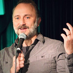 Latham native Aric Grooms is now a standup comedian in New York City, but makes trips back to southern Ohio for shows.