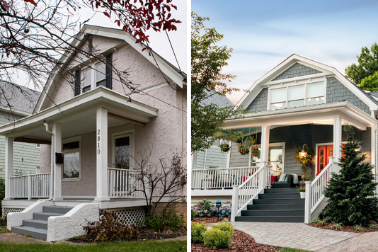 Hgtv Home Before after composite
