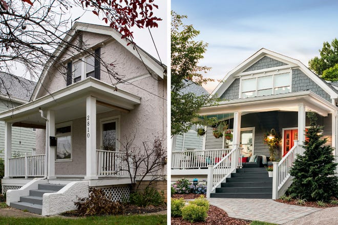 The HGTV Urban Oasis 2018 is located in Cincinnati, OH in the Oakley neighborhood. This home was completely gutted and remodeled during renovations, including an addition. Click through this gallery to see the before and after pictures from the project.