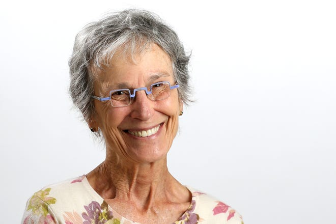 Judith Harmony, pictured, Wednesday, Sept. 12, 2018, at The Cincinnati Enquirer.