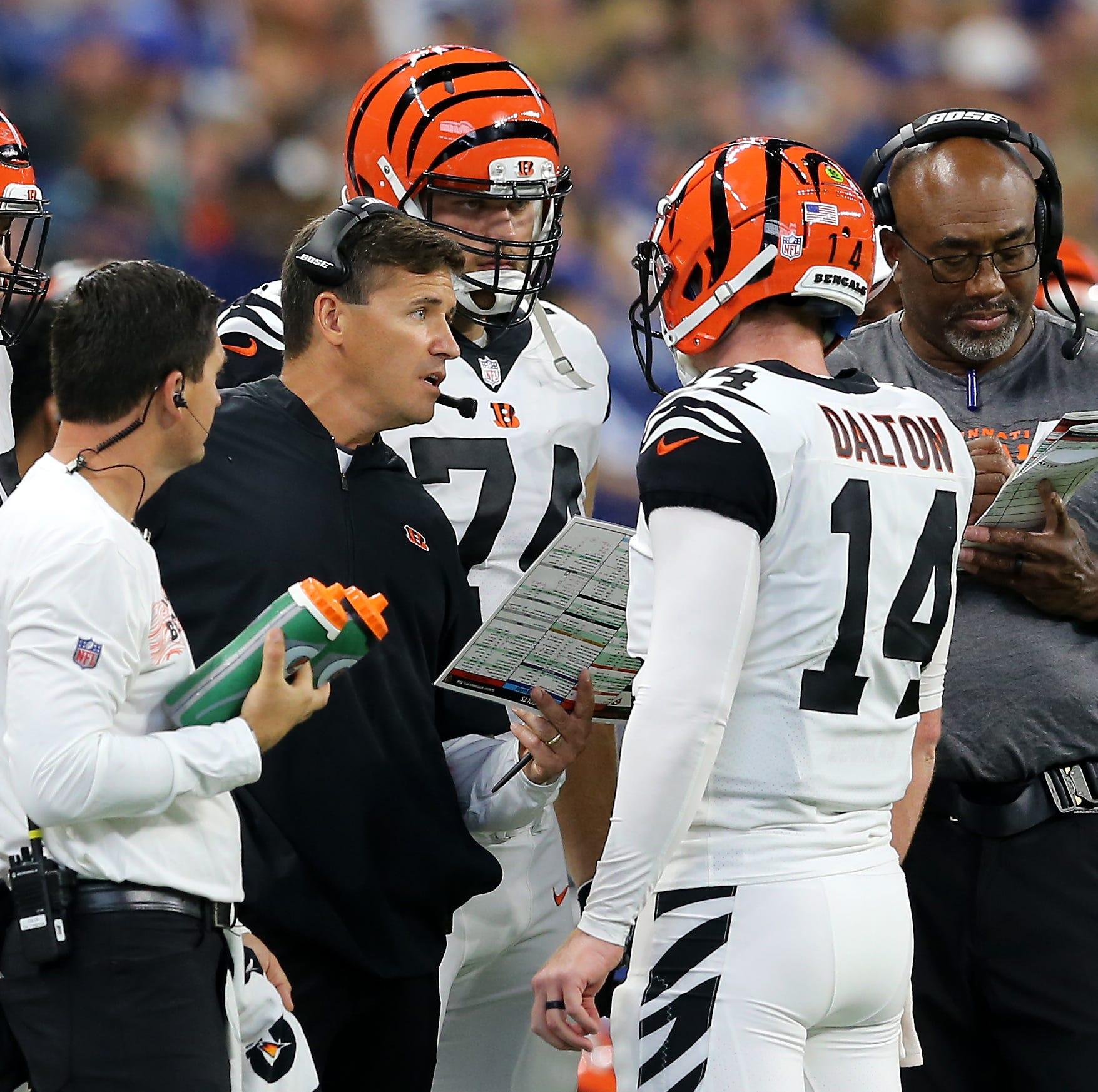 Cincinnati Bengals offensive coordinator Bill...
