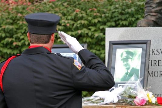 Clarksville Fire Rescue 9 11 Memorial Ceremony 12