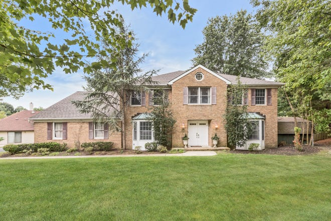 A five-bedroom, three-full-bath two-story colonial located on a private cul-de-sac in the Farrington Lake section of North Brunswick was just listed by Andrew Zastko, broker-owner of Gloria Zastko, Realtors.