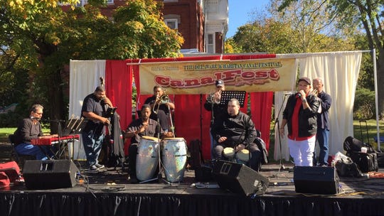 CanalFest returns Oct. 13 East Millstone Park, East Millstone section of Franklin. Performers will include Swing Sabroso, pictured.