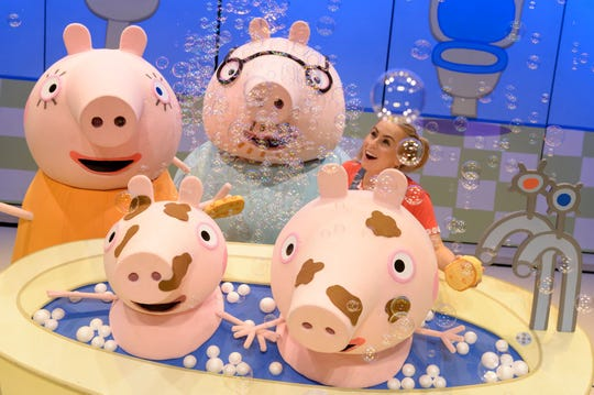 """Families will enjoy Peppa Pig Live! in """"Peppa Pig's Surprise!"""" on Nov. 7 at the State Theatre New Jersey in New Brunswick."""