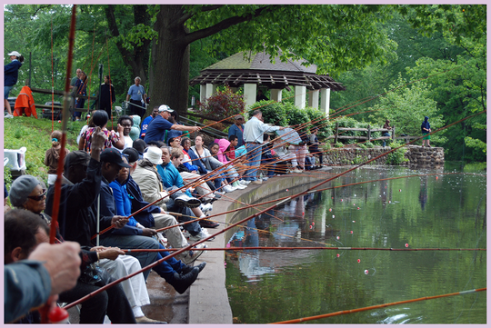 A free Fishing Derby for People with Special Needs will be Sept. 22 at Echo Lake Park, Mountainside.