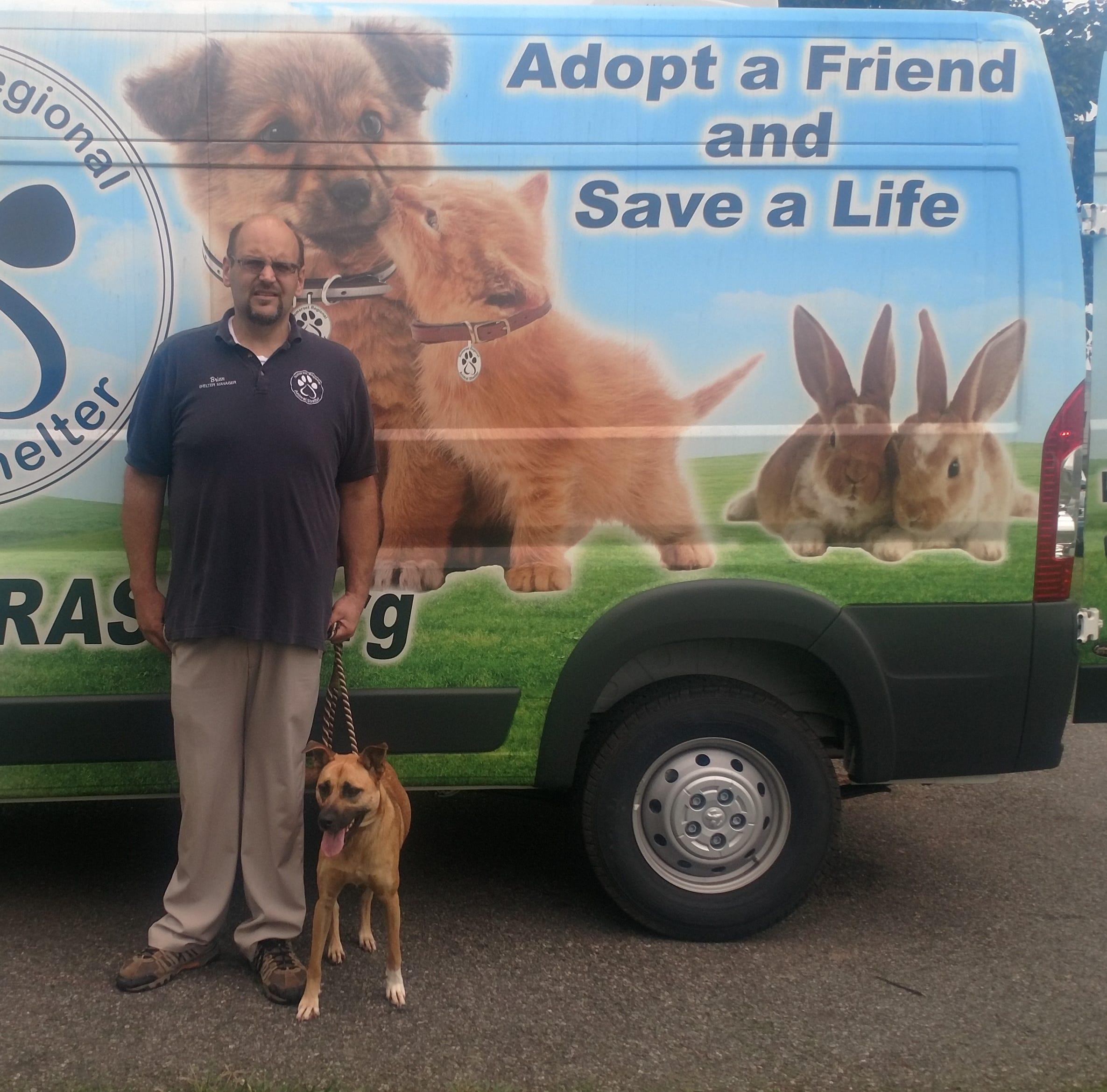 Hurricane Florence: NJ animal shelter rescues first dog from Carolinas