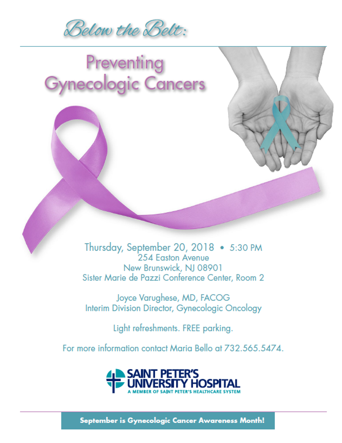 Preventing Gynecologic Cancers