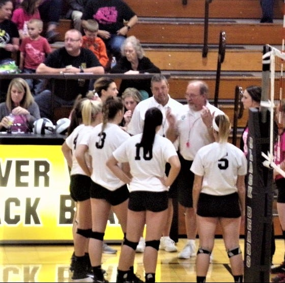 Lady Bears drop Redskins in Volley for a Cure match
