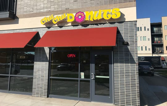 ChuChu Donuts is located at 550 SW 9th Street, #5108 in downtown Des Moines.