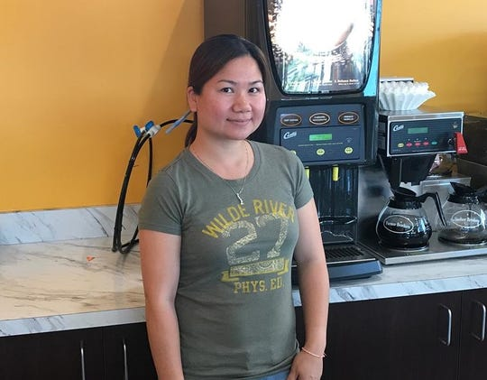 Kim Chu-Inn, 35, owner of ChuChu Donuts.