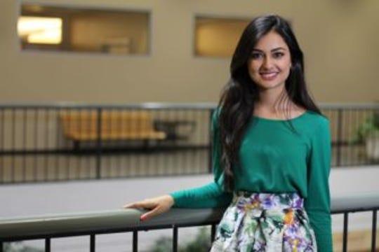 Hira Mustafa, University of Iowa Student Government president